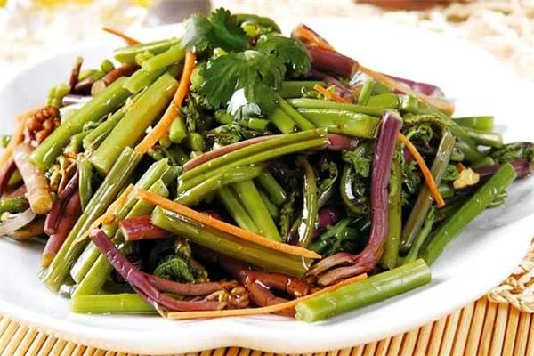 蕨菜图源:温州发布