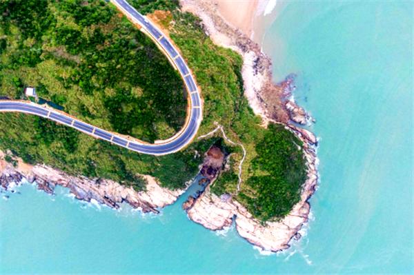 温州168黄金海岸线 图源:温州发布